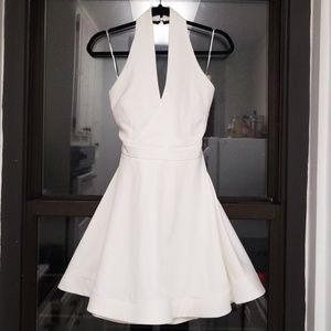 Luxxel Marilyn Style A-line Halter Dress